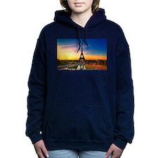 Eiffel Tower Women's Hooded Sweatshirt