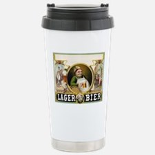 Vintage Lager Beer Adve Travel Mug