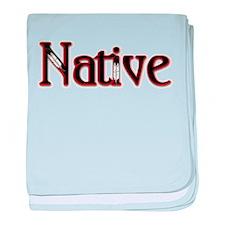 Native baby blanket
