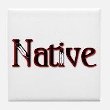 Native Tile Coaster