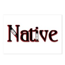 Native Postcards (Package of 8)