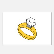 Diamond Ring Postcards (Package of 8)