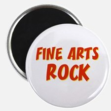 Fine Arts~Rock Magnet