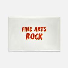 Fine Arts~Rock Rectangle Magnet