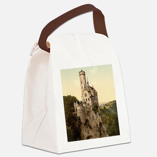Lichtenstein Castle Canvas Lunch Bag