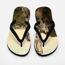 Lichtenstein Castle Flip Flops