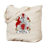 Woorley Family Crest Tote Bag