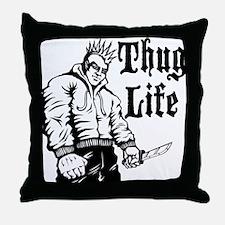 Cute Ganster Throw Pillow