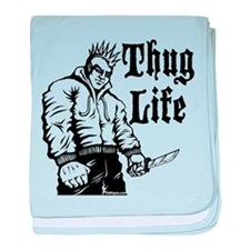 Unique Thug life baby blanket