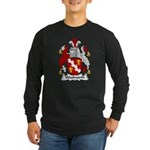 Woolworth Family Crest Long Sleeve Dark T-Shirt