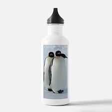 Emperor Penguins Huddl Water Bottle