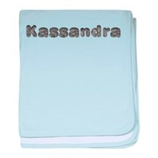 Kassandra Wolf baby blanket