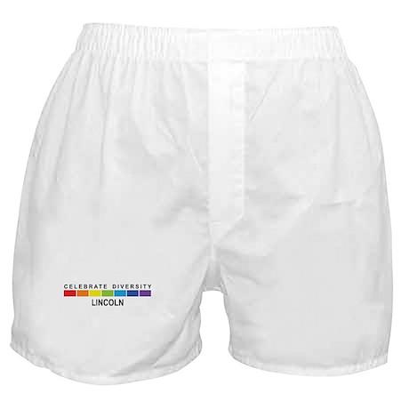 LINCOLN - Celebrate Diversity Boxer Shorts