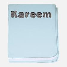 Kareem Wolf baby blanket