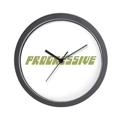 PROGRESSIVE Wall Clock