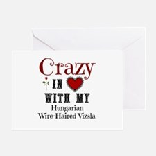 Hungarian Wire-Haired Vizsla Greeting Cards
