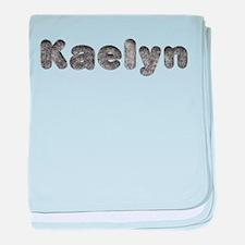 Kaelyn Wolf baby blanket