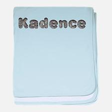 Kadence Wolf baby blanket