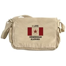 I love Birmingham Alabama Messenger Bag