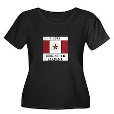 I love Birmingham Alabama Plus Size T-Shirt