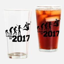 Class of 2017 Evolution Drinking Glass