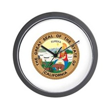 California State Seal Wall Clock