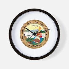 California State Seal Wall Clock