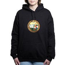 California State Seal Women's Hooded Sweatshirt
