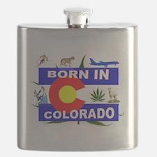 COLORADO BORN Flask