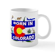 COLORADO BORN Mugs
