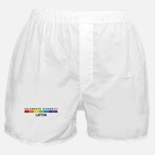 LAYTON - Celebrate Diversity Boxer Shorts