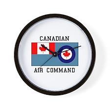 Canadian Air Command Wall Clock