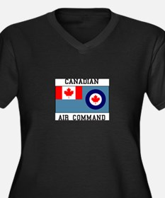 Canadian Air Command Plus Size T-Shirt
