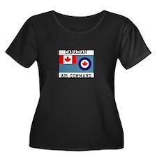 Canadian Air Command Plus Size T-Shirt