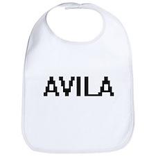 Avila digital retro design Bib