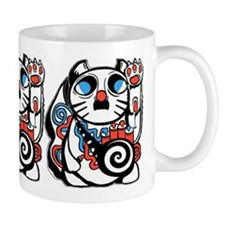 Lucky Kitty Mugs