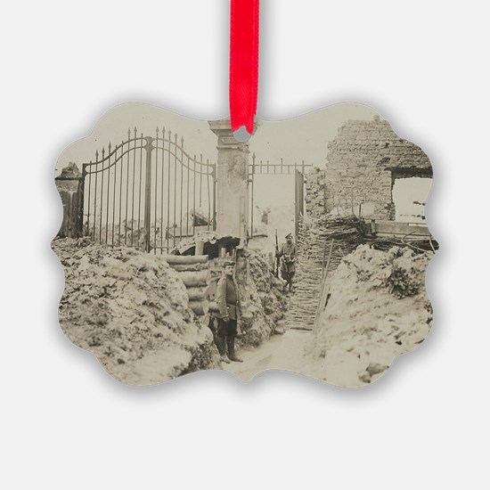 In The Trenches Ornament