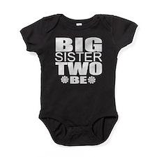 big sister twins Baby Bodysuit