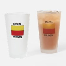 Bogota, Colombia Drinking Glass