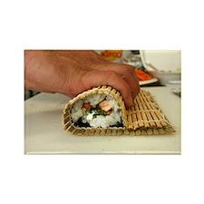 Making Sushi Rectangle Magnet