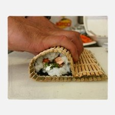 Making Sushi Throw Blanket