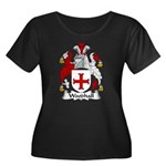 Woodhall Family Crest Women's Plus Size Scoop Neck