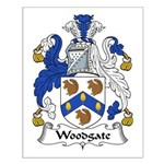 Woodgate Family Crest Small Poster