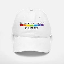 PHILIPPINES - Celebrate Diver Baseball Baseball Cap
