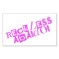 Reckless Abandon Decal