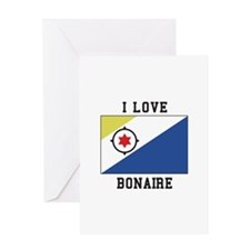 I love Bonaire Greeting Cards
