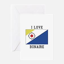I love Bonaire Greeting Cards