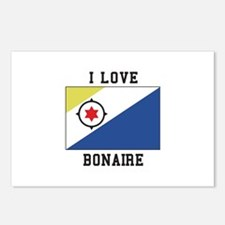 I love Bonaire Postcards (Package of 8)