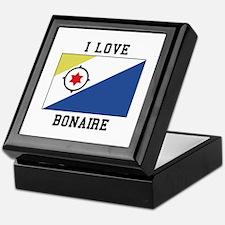 I love Bonaire Keepsake Box