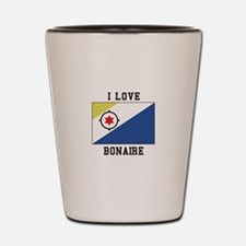 I love Bonaire Shot Glass